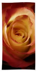 Dark Rose Bath Towel