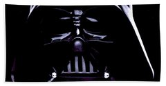 Dark Side Hand Towel by George Pedro