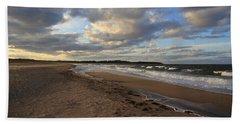 Dark Skies And Sea - Nova Scotia Seascape Hand Towel