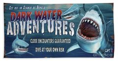 Dark Water Adventure Bath Towel