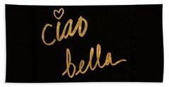 Darling Bella II Hand Towel by South Social Studio