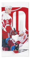 Darren Mccarty Hand Towel