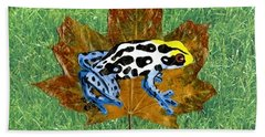 Dart Poison Frog Hand Towel by Ralph Root