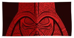 Darth Vader - Star Wars Art - Red 02 Hand Towel