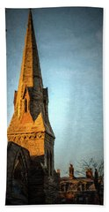 Dartmouth Street In Boston Bath Towel