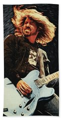 Dave Grohl Hand Towel