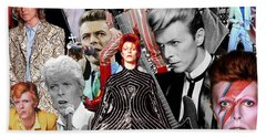 David Bowie 6 Bath Towel