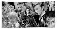 David Bowie 7 Bath Towel