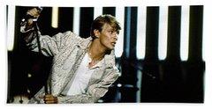 David Bowie Action Man Hand Towel