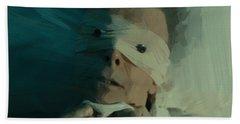 David Bowie Bath Towel