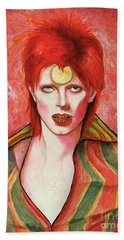 David Bowie Forever Hand Towel