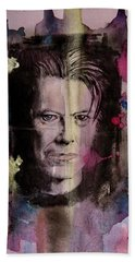 David Bowie Hand Towel