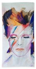 David Bowie Hand Towel