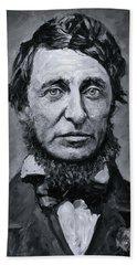 David Henry Thoreau Hand Towel
