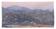 Dawn At Mirador De Ronda Hand Towel