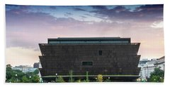 Dawn At The National Museum Of African American History And Culture.  No 1 Hand Towel