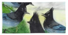 Dawn Chorus Bath Towel