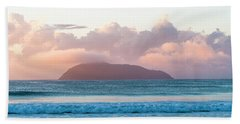 Dawn Hand Towel by Lana Enderle