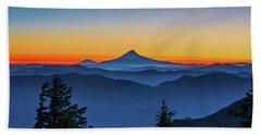 Dawn On The Mountain Hand Towel