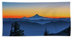 Dawn On The Mountain Bath Towel
