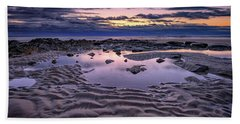 Bath Towel featuring the photograph Dawn On Wells Beach by Rick Berk