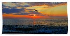 Dawning Flight Hand Towel by Dianne Cowen