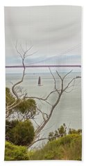 Day At The Bay Hand Towel
