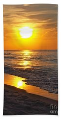 Day Is Done Bath Towel by Pamela Clements