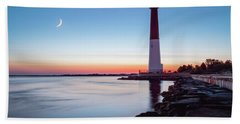 Hand Towel featuring the photograph Daybreak At Barnegat by Eduard Moldoveanu