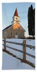 Bath Towel featuring the photograph Daylight's End_vertical by Janice Adomeit