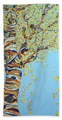 Days Of Gold Hand Towel