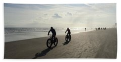 Daytona Beach Bikers Bath Towel