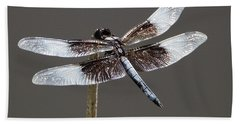 Dazzling Dragonfly Hand Towel