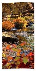 4 Of 6 Dead River Falls  Marquette Michigan Section Bath Towel