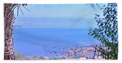 Dead Sea Overlook 2 Bath Towel