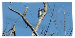 Hand Towel featuring the photograph Dead Tree - Wildlife by Donald C Morgan