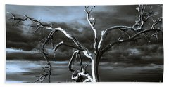 Hand Towel featuring the photograph Dead Tree In Death Valley 9 by Micah May