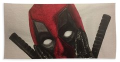 Deadpool Bath Towel