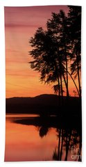 Deam Lake Dawn - Fm000088 Hand Towel