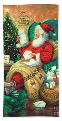 Dear Santa Hand Towel