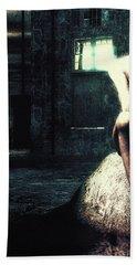 Death Is A Poet Bath Towel by Bob Orsillo