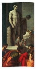 Death Of Caesar, March 15, 44 Bc Hand Towel