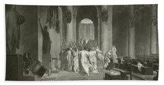 Death Of Julius Caesar, 44 Bc  Hand Towel