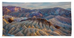 Death Valley Palette  Hand Towel