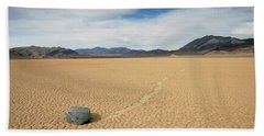 Death Valley Ractrack Bath Towel