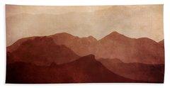 Death Valley Bath Towel by Scott Norris