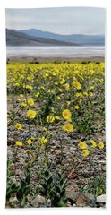Death Valley Super Bloom Bath Towel