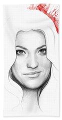 Debra Morgan Portrait - Dexter Bath Towel