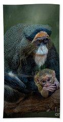 Debrazza's Monkey And Baby Bath Towel