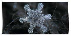 December 18 2015 - Snowflake 1 Hand Towel